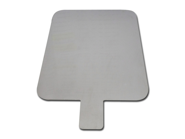 Diathermy Patient Grounding Plate Stainless Steel image 0