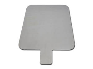 Diathermy Patient Grounding Plate Stainless Steel