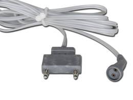 Daithermy Cable for Bipolar Forceps Two Pin Connection